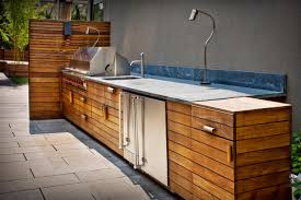 ipe grill counter built in outdoor kitchen landscaping network