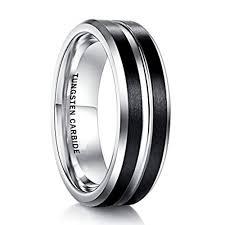 matte black mens wedding bands 7mm unisex or s wedding band mens wedding rings black matte