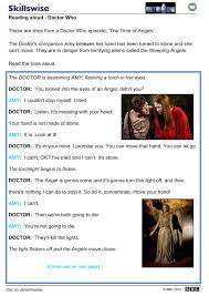 doctor who reading aloud