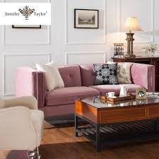 Simple Wooden Sofa Set Pink Sofa Furniture Pink Sofa Furniture Suppliers And