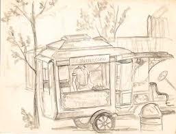 pencil sketches of pleasure island by priscilla didonato hendrick