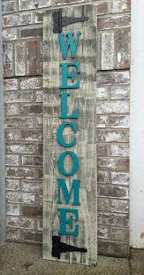 25 unique wooden welcome signs ideas on welcome signs