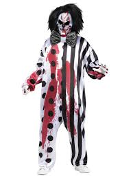 bleeding killer clown costume 131634 fancy dress ball