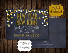 new year new address cards christmas we ve moved new address greeting card