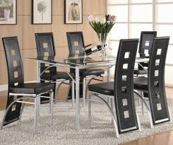 dining room set of 4 black dining chairs upholstered dining