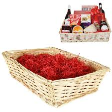 large christmas hamper kit cellophane bow craft basket make your