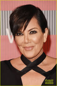 kris jenner hair 2015 kourtney kardashian kylie jenner attend mtv vmas 2015 with mom