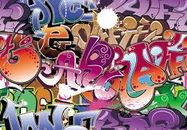 graffiti design beautiful graffiti font design 05 vector free vector in