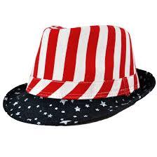 Usa Flag Hats American Flag Fedora Hat