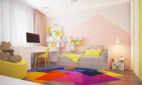 beautiful home design complete with a colorful kids room inside