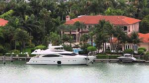 miami mansions of the rich and famous on palm island youtube