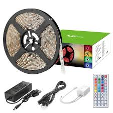 color led light strips 12v 5050 smd 60 multicolor led light strip with remote waterproof