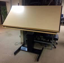 Drafting Table Mayline Mayline Drafting Table Used Usedfurniture