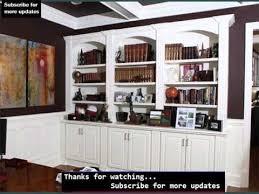 Home Office Bookshelf Ideas Wall Storage Shelves Ideas Shelving Home Office Youtube