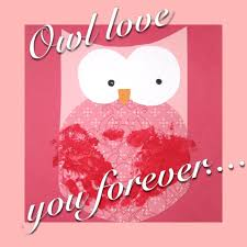 owl love you forever a valentine craft for kids valentine