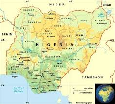 map of nigeria africa the 25 best map of nigeria ideas on africa map