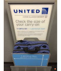 united airline carry on carry on baggage carry on bag policy