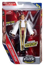 amazon com wwe elite flashback lord steven regal figure toys games