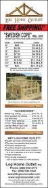 Log Home Design Online Magazine Ad