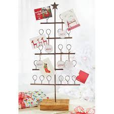 christmas holder mud pie metal christmas tree card holder reviews wayfair