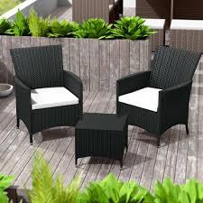 tavoli da giardino rattan set da giardino in rattan e alluminio athen 2 sedie tavolo