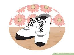 Decorate Shoes 3 Ways To Decorate Shoes Wikihow