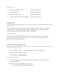 trong resume