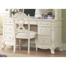 Girls White Desk With Hutch by Cinderella Victorian White 3 Pc Computer Desk Chair With