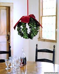 mistletoe hanging ball how to martha stewart