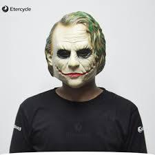 michael myers mask halloween costume aliexpress com buy joker mask batman clown costume cosplay movie