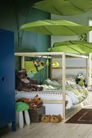 ikea lova leaf ikea lova bed canopy book nook pair toddler room pinterest