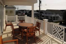 Two Story Deck Two Story Upside Down Single Family Stone Harbor Nj A Luxury