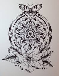 dotwork mandala tattoo sketch best tattoo ideas gallery