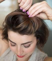 Frisuren Tipps Mittellange Haare Hochstecken by Die Besten 25 Kurze Haare Stylen Ideen Auf Locken