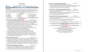 marketing resume makeover before u0026 after u2014 careercloud