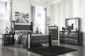 Ashley Furniture Upholstered Bed Contmporary Upholstered Queen Poster Bed By Signature Design By