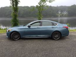 nissan awd sedan on the road review genesis g80 sport awd sedan mount desert