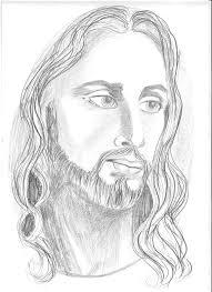 jesus christ drawing by priya paul