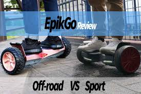 off road sports car epikgo hoverboard review the off road all terrain vs sports edition