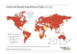 Nicaragua On World Map by Renewables 2015 Global Status Report