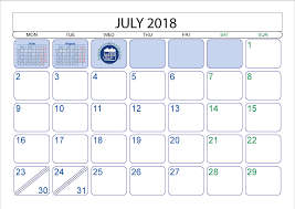 printable calendar with holidays 2018 july 2018 printable calendar printable 2017 calendar