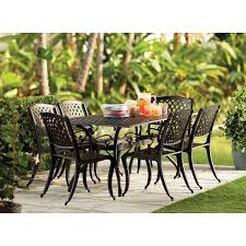 Iron Patio Table And Chairs Alcott Hill Castle Heights 7 Piece Dining Set U0026 Reviews Wayfair
