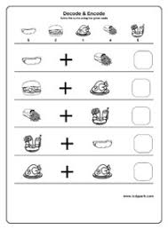 decode and encode worksheet for class 1 2 u0026 3 matching activity
