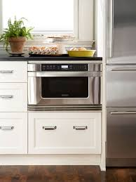 Microwave Kitchen Cabinets by Space Saving Kitchen Appliances Kitchens Cabinet Space And