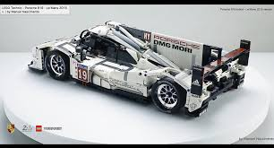 porsche lego amazing fan built lego technic porsche 919 the 2015 le mans