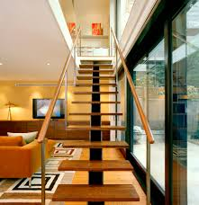First Home Renovation Floating Staircase by The Insider Super Modern Addition In Brooklyn Heights Brownstoner