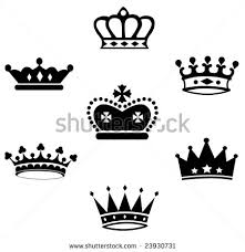 queen and king crown tattoo designs photos pictures and