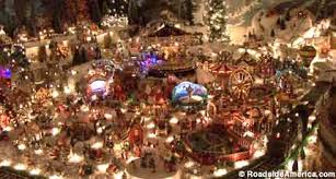 Christmas Decorated Houses Completely Filled Yard With Hoarder Christmas Decorations Home