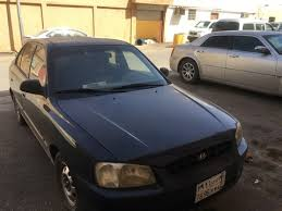 hyundai accent 2001 for sale used hyundai accent blue 2001 for sale in buraidah for 2 500 sr