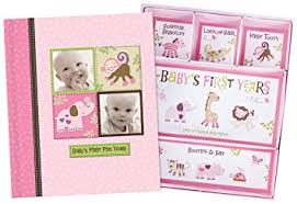 baby girl photo album baby girl memory book hardcover record babys